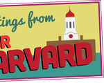 Your Harvard postcard