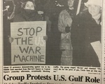 Gulf War Harvard Square Protest