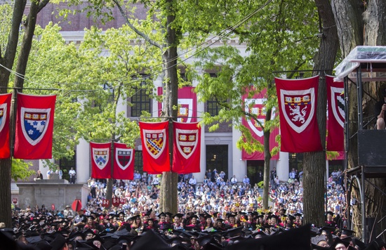 Tercentenary Theater Commencement 2016