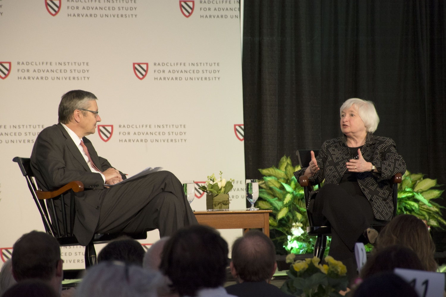 Mankiw and Yellen
