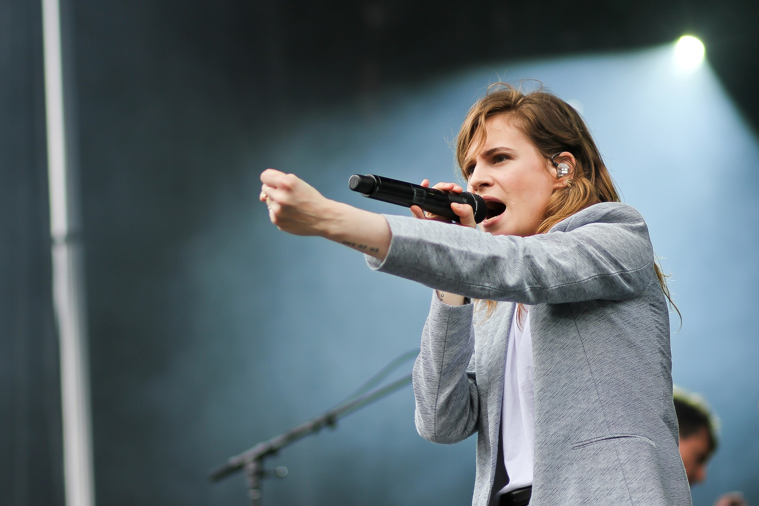Christine and the Queens performs at Boston Calling on Sunday, May 29.