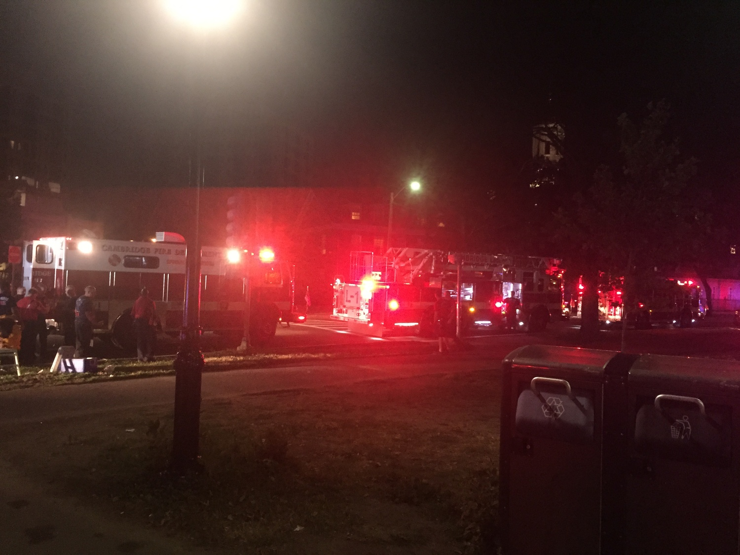 Local police recovered a person from the Charles River Friday night.