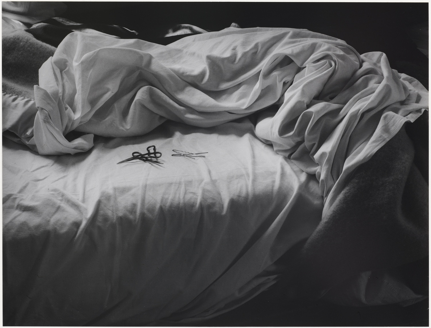 The Unmade Bed by Imogen Cunningham