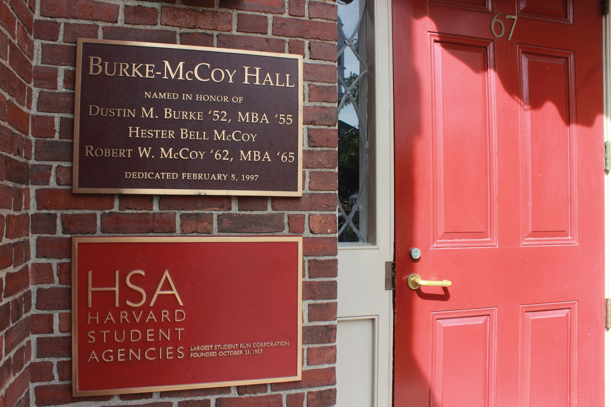 HSA, located at 67 Mount Auburn Street, elects Angelina R. Massa '18 as its next president.