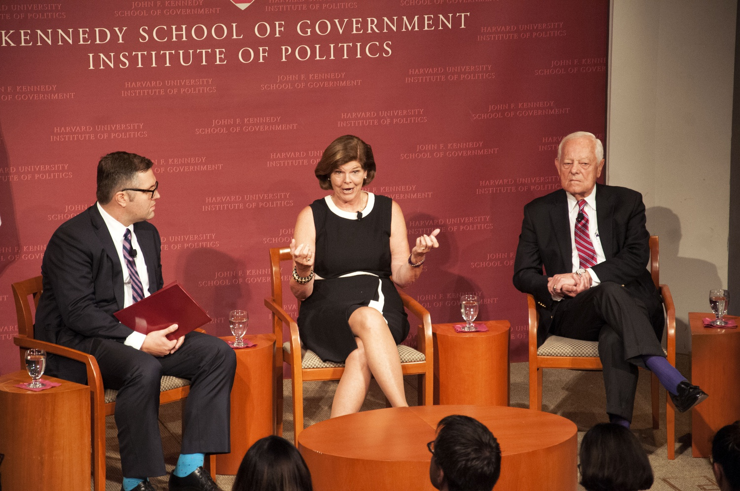 Former White House Correspondent and current IOP fellow Ann Compton speaks with former CBS reporter Bob L. Schieffer and moderator Nicco Mele on media's changing role in the 2016 election.