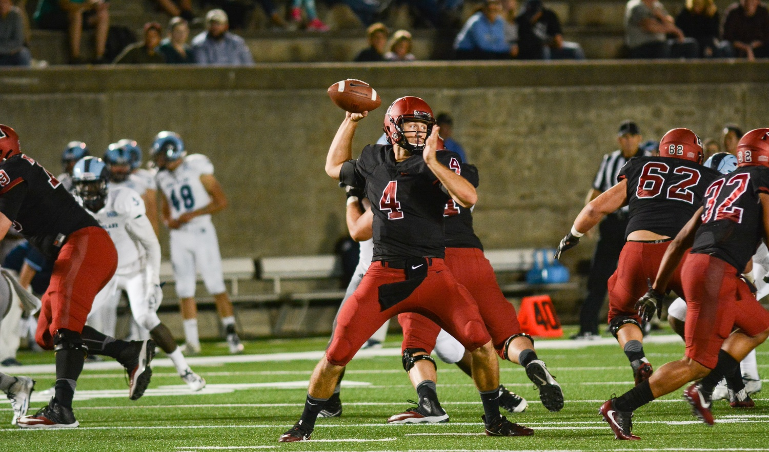 Last Friday night in Harvard Stadium, senior quarterback Joe Viviano started his first game and accounted for 341 total yards, leading the Crimson to a season-opening win over Rhode Island.