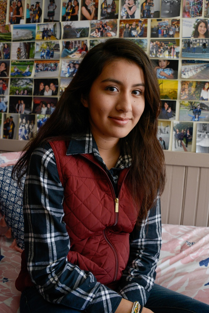 Maribel Nava '20 was born in the United States to undocumented Mexican parents.