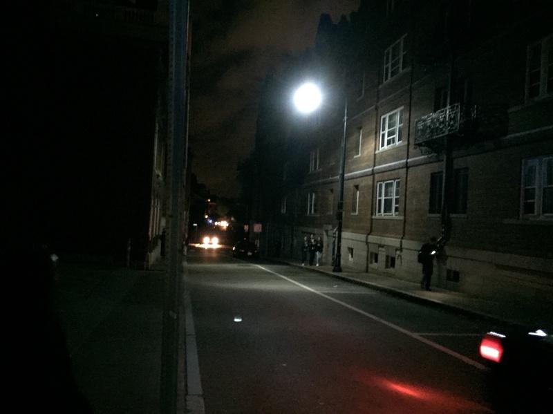Adams Shrouded in Darkness