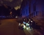 Harvard Yard Blackout