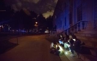 Harvard Yard Blackout