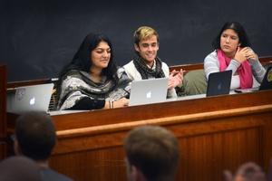 Undergraduate Council Debates HUDS Support