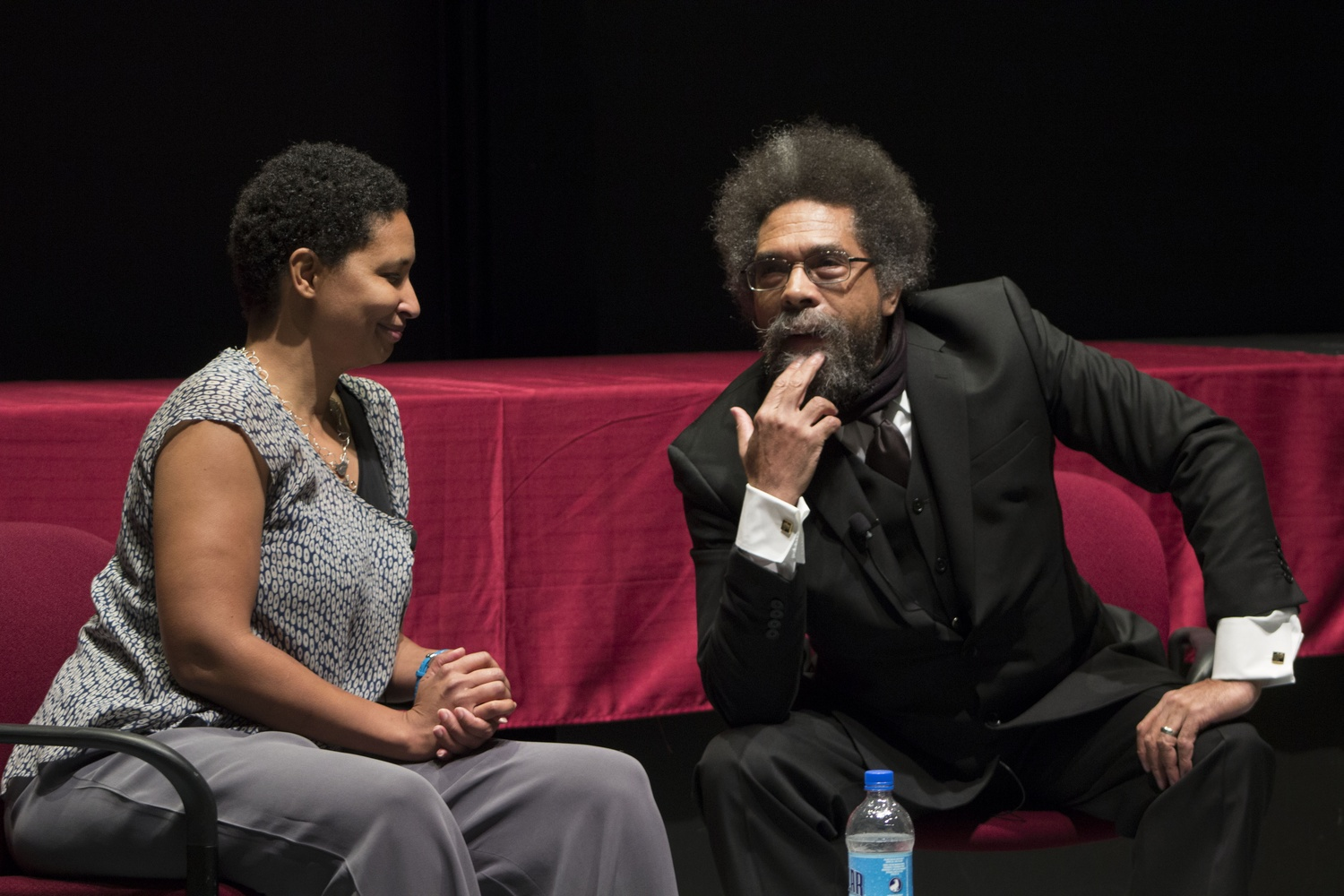 Cornel West in October.