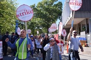 HUDS Strike Day 2