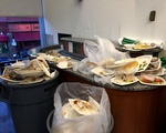 Food Waste Piles Up