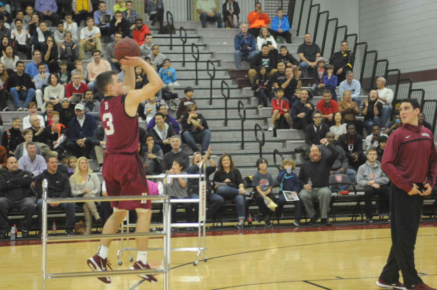 Sophomore point guard Tommy McCarthy will be one of eight participants in the three-point competition at Friday's Crimson Madness.