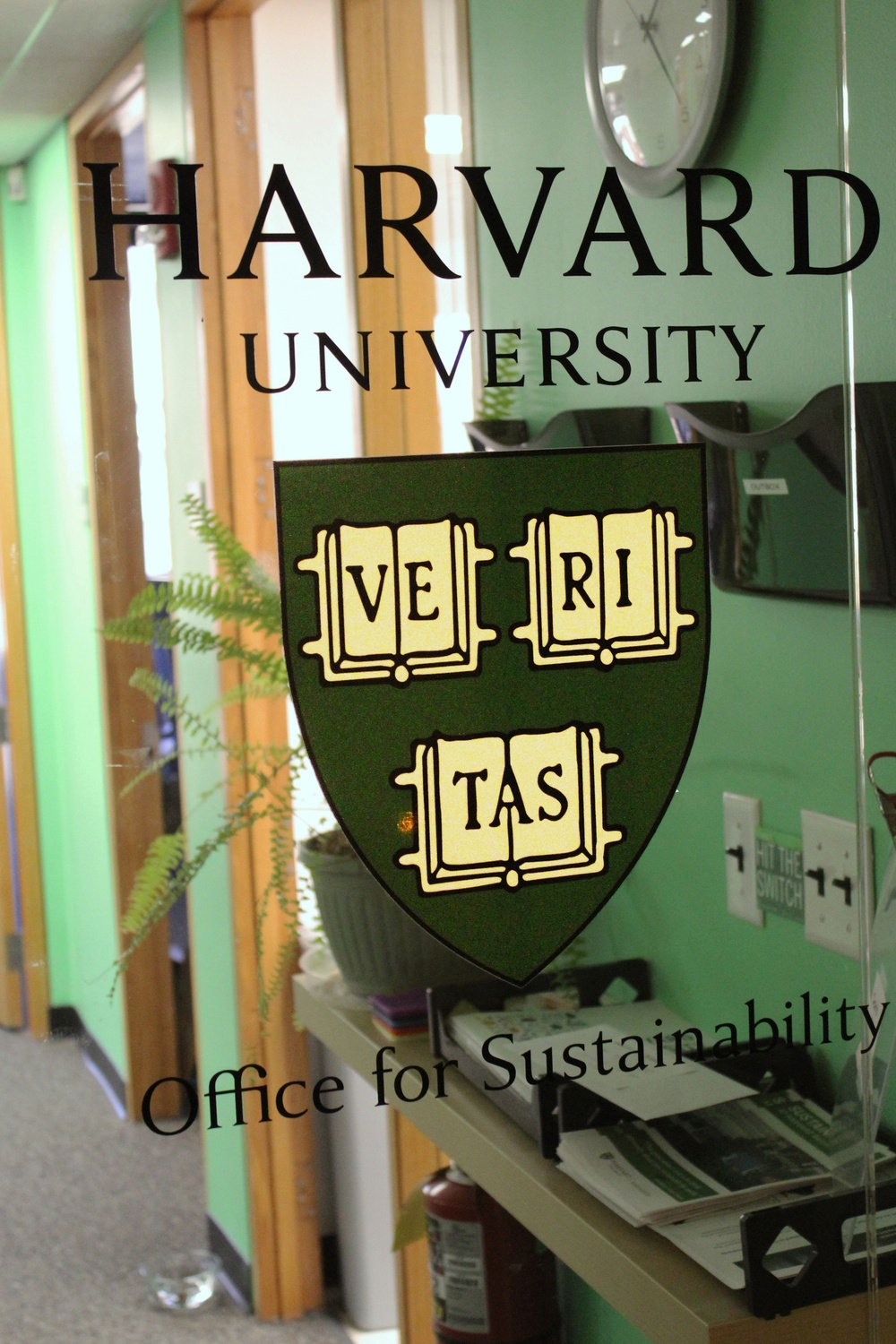 Office of Sustainability's Living Lab
