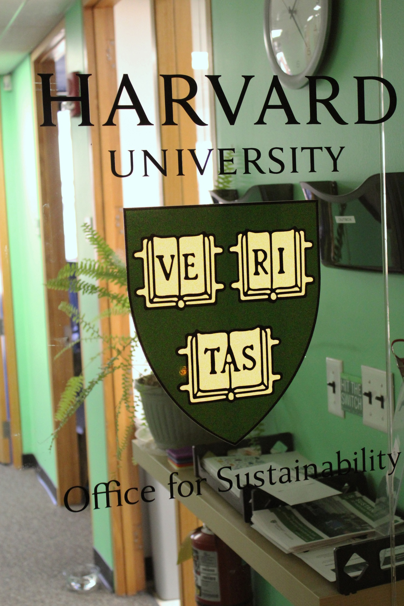 "The Office of Sustainability will be housing the renewed ""Living Laboratory"" initiative, whose core  mission is to use the Harvard campus as a test bed for new ideas related to combating climate change and improving public health."