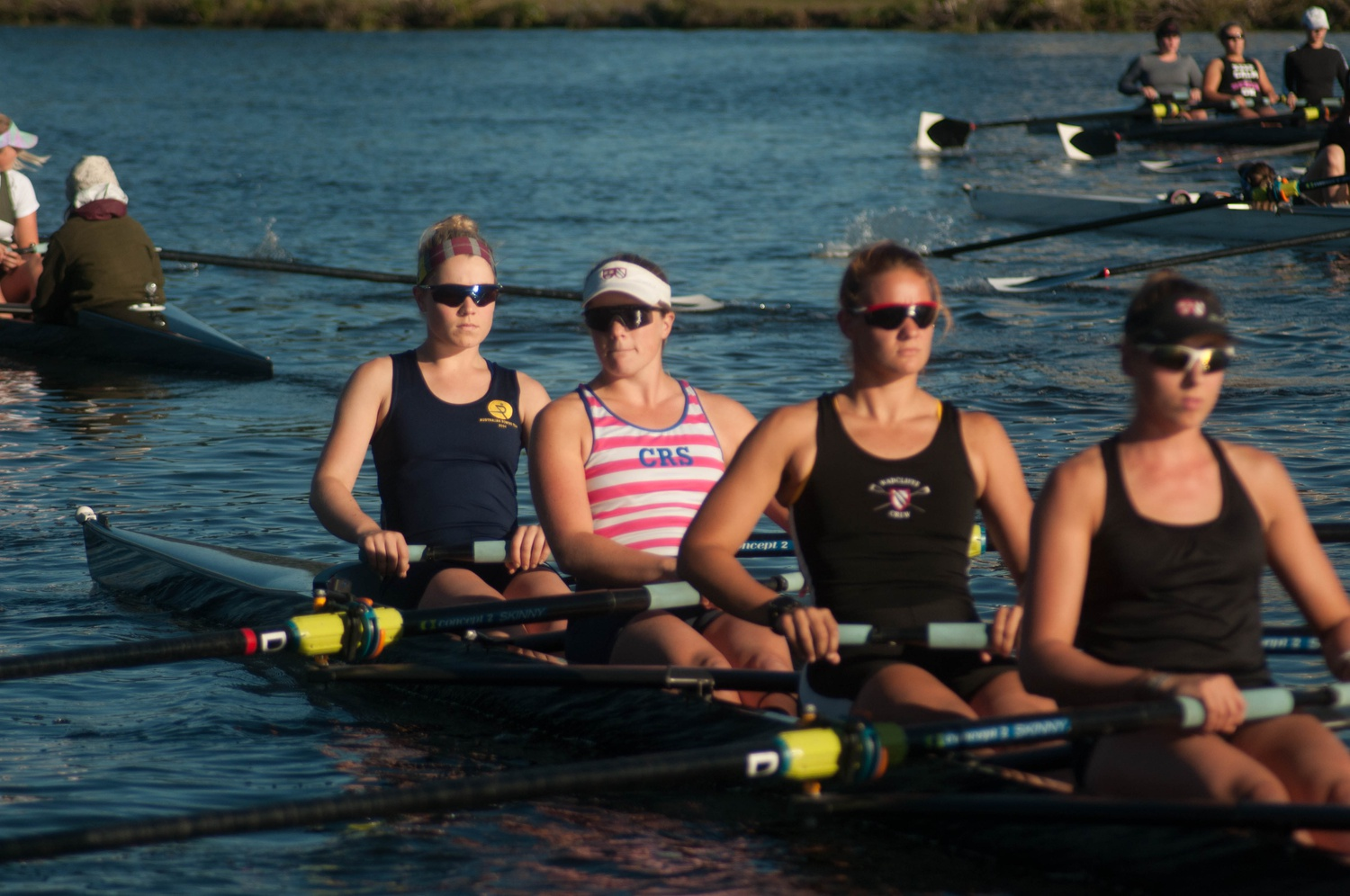 """Co-captain Abigail Parker is the daughter of long-time Harvard coach Harry Parker, often referred to as """"God""""."""