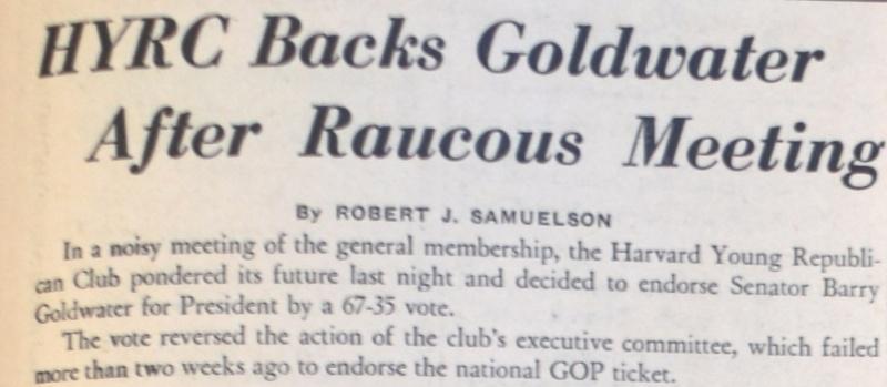 1964 headline