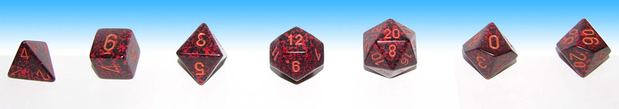 A set of D&D dice