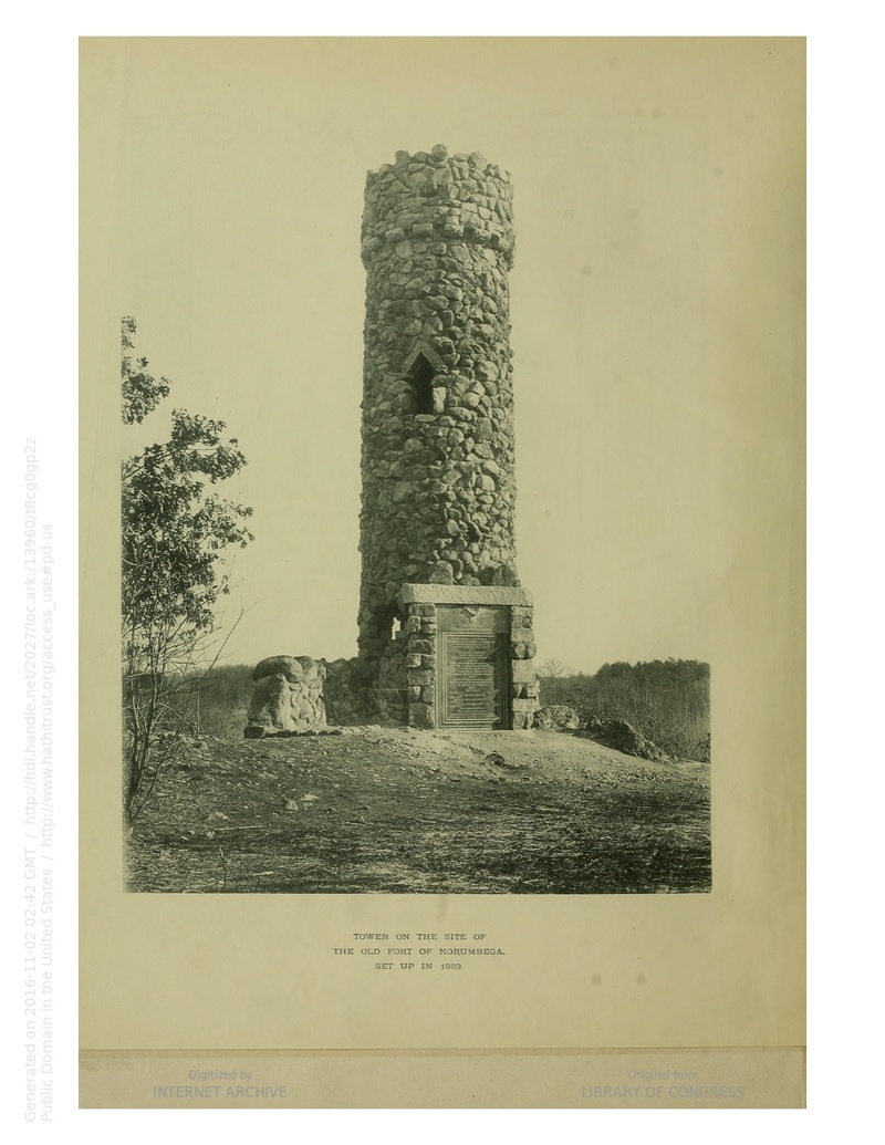 Norumbega Tower in the Archives