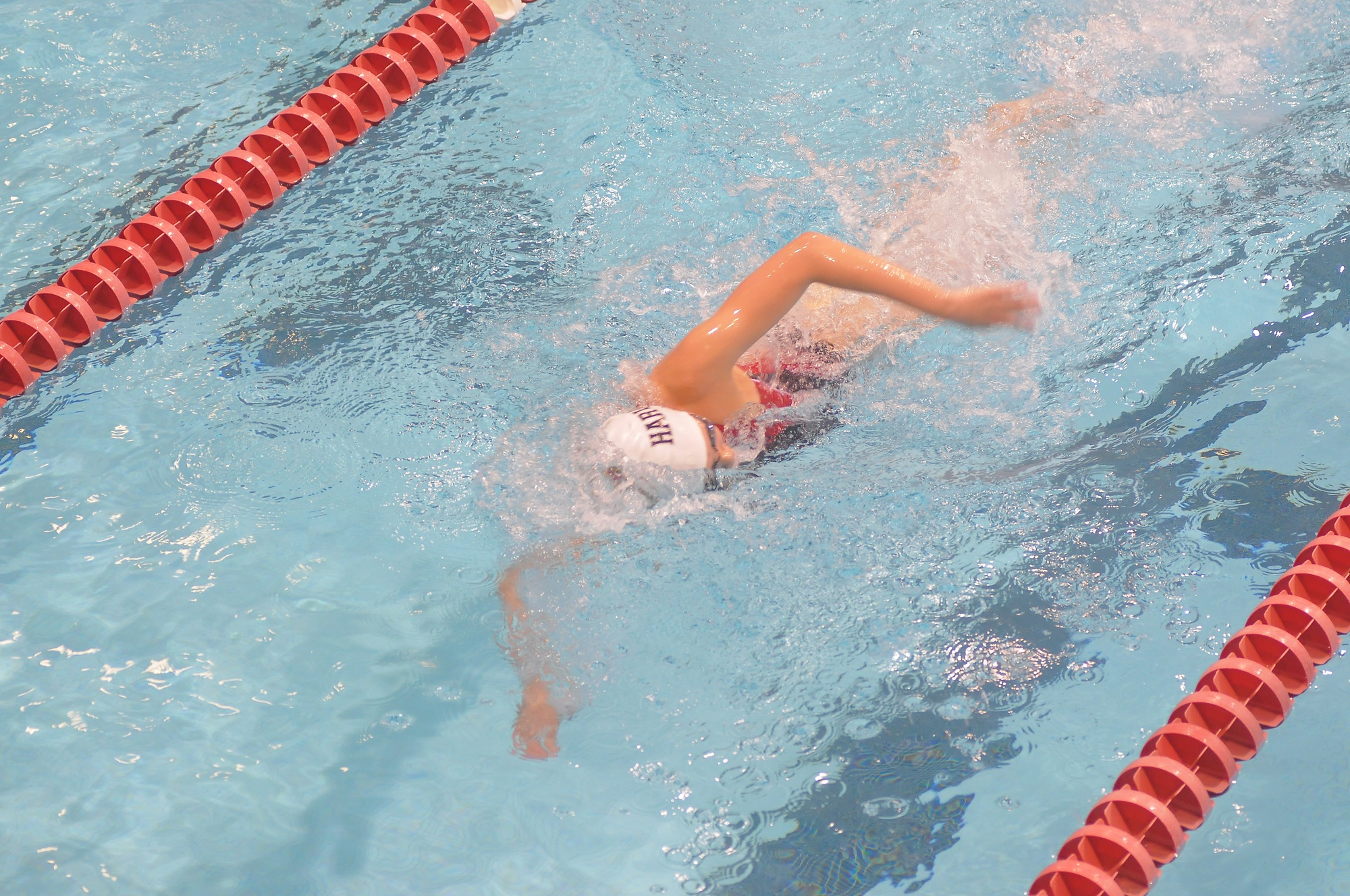 This weekend the Harvard women's swimming and diving team opened its season with a dominating performance.