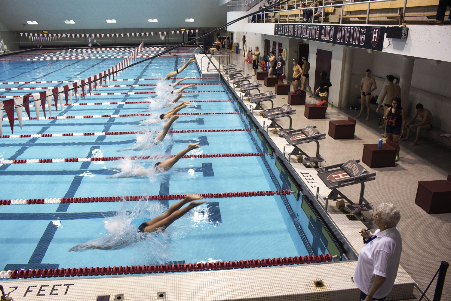 Men 39 S Swimming And Diving Starts Quest For Ivy Crown Sports The Harvard Crimson