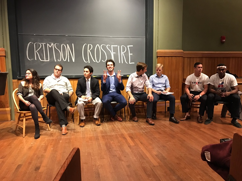Crimson Crossfire Debate