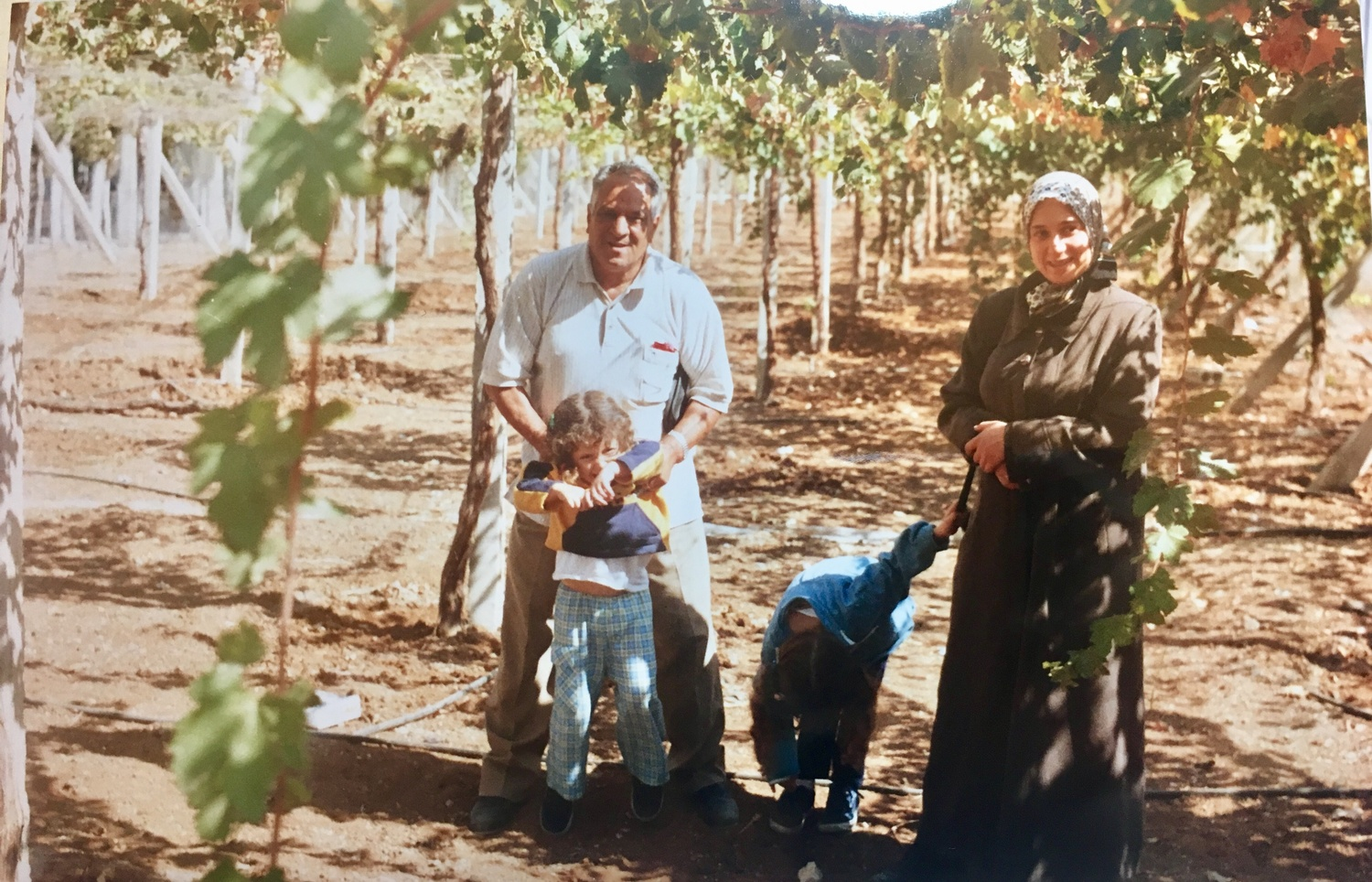A photo of Bushra Hamid when she visited family in Syria in 2010.