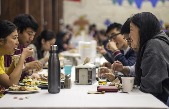 Thanksgiving Dinner on Campus