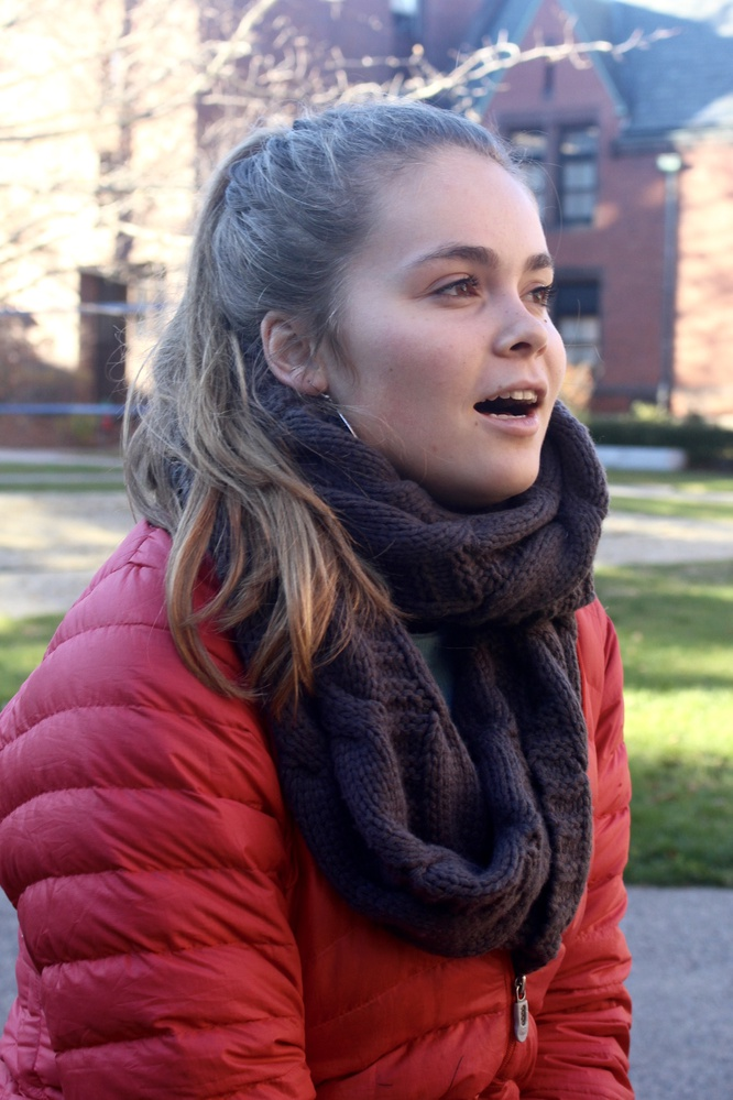 An Integrative Biology concentrator, Whitney Hansen loves animals. She founded the Harvard College Conservation Society as a sophomore.