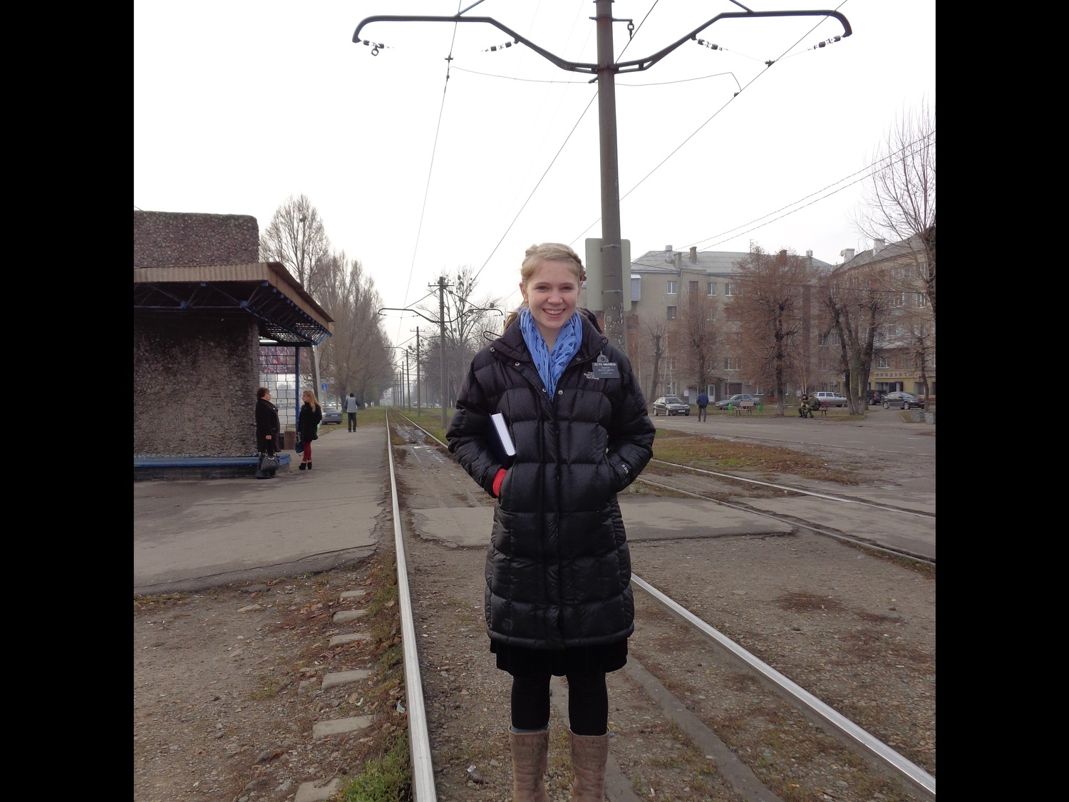 Finlayson in Ukraine, where she went after her freshman year to complete missionary work along the Ukraine-Russia border