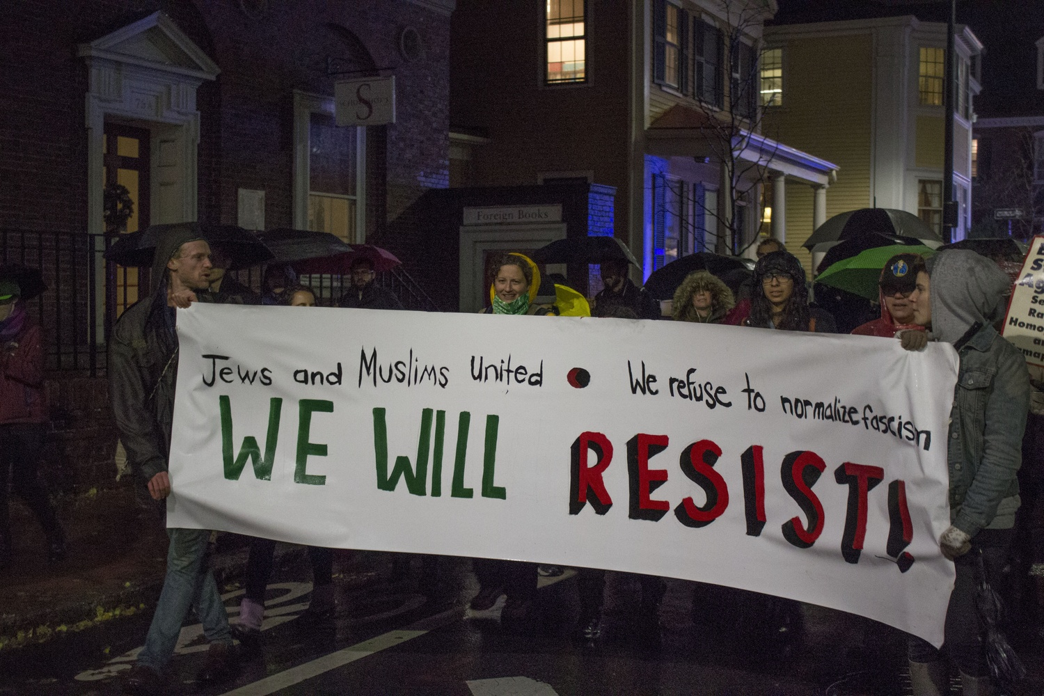 """We Will Resist"""