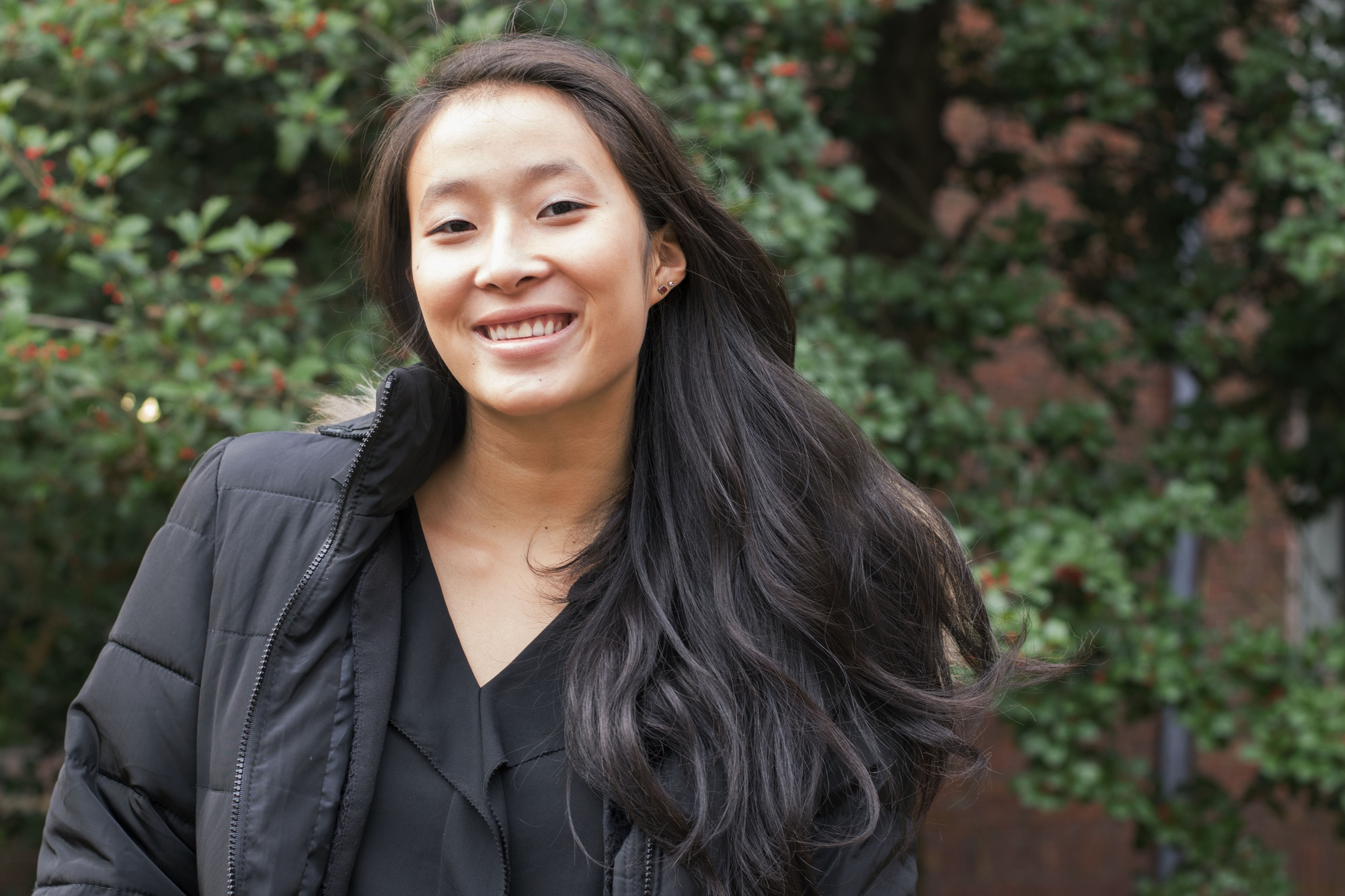 Nadya Okamoto '20—the founder and executive director of Camions of Care, an organization dedicated to supporting menstrual hygiene—lives in Canaday.