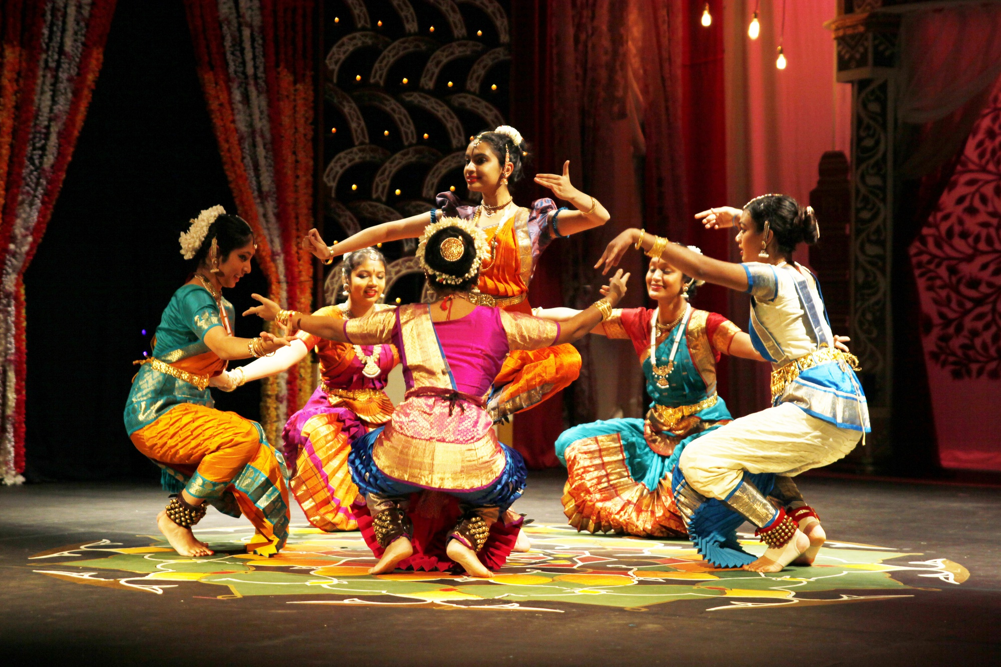 Each spring, students have the opportunity to take part in Ghungroo, which celebrates South Asian music, dance, and culture.
