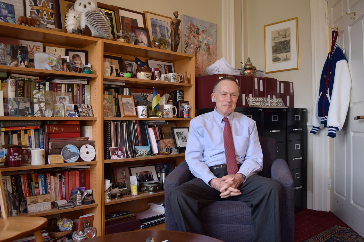 Dean of Admissions and Financial Aid William R. Fitzsimmons '67