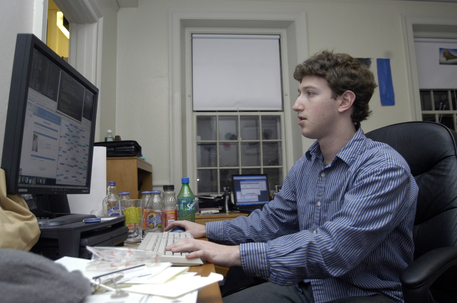 Mark Zuckerberg 2004