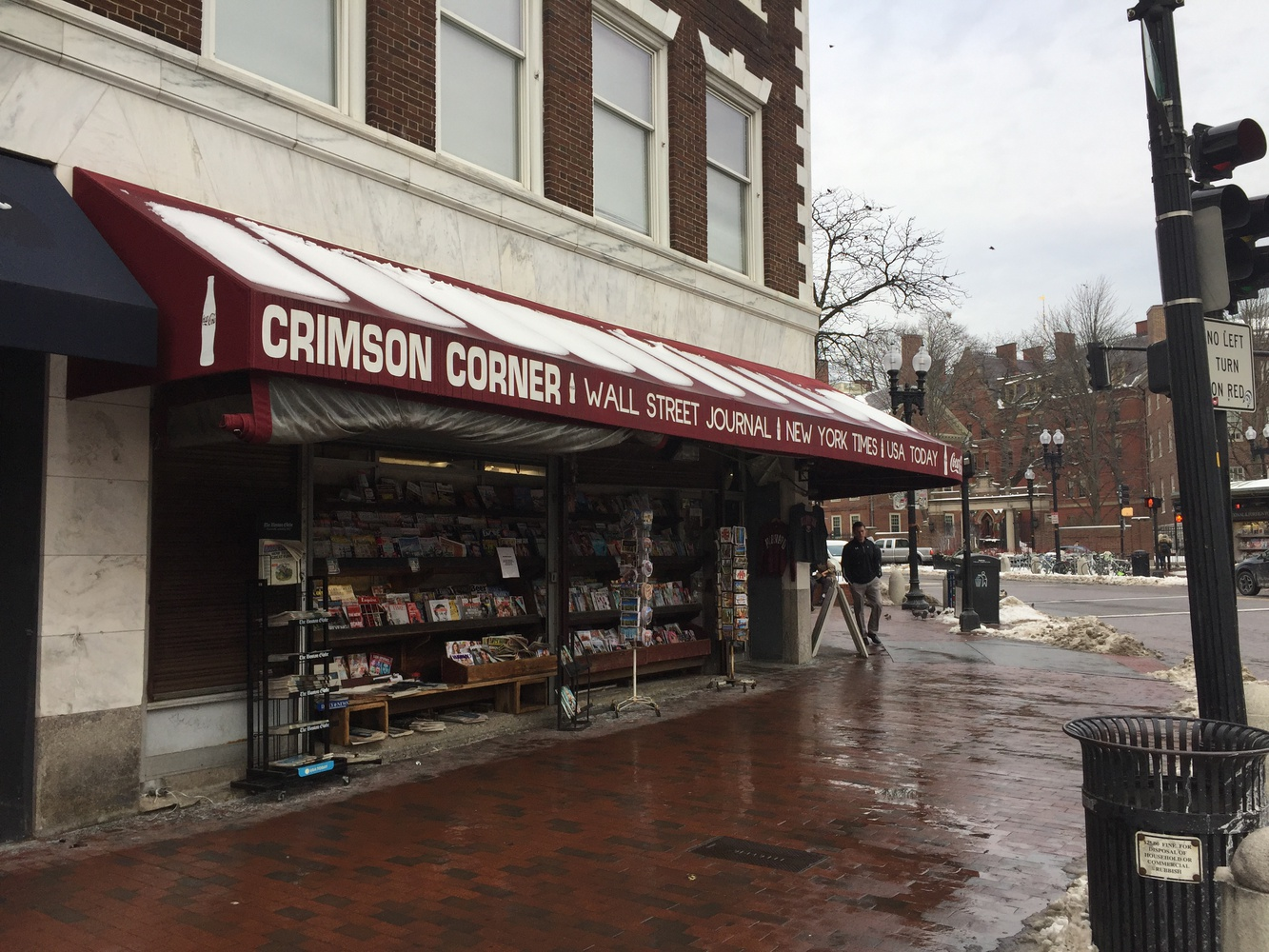 Crimson Corner, a family-owned newsstand and souvenir shop, may close after 54 years in Harvard Square.