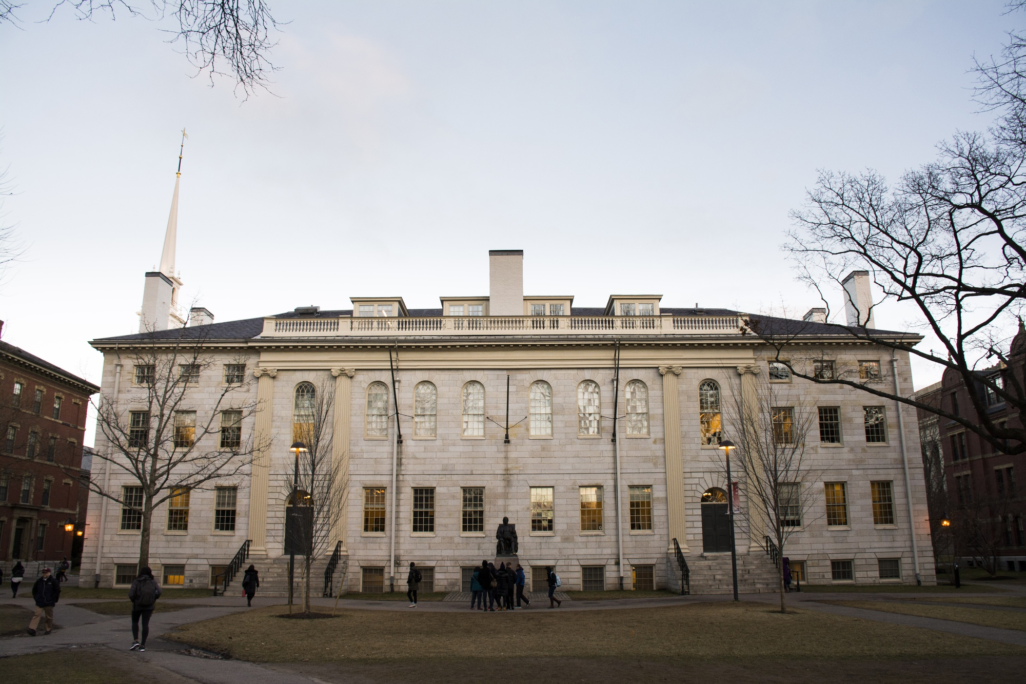 University Hall houses many administrative offices of the Faculty of Arts and Sciences.