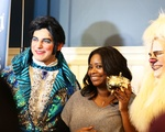 Octavia Spencer Receives Pudding Pot