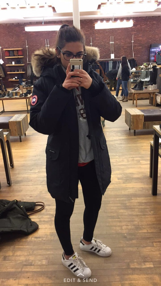Trying on these jackets was definitely a daunting experience.
