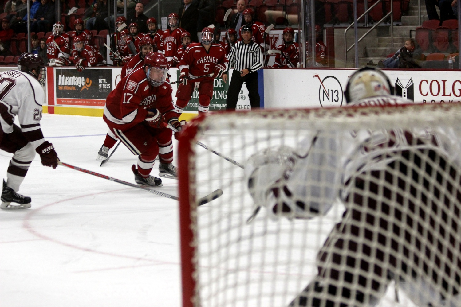 Three Tallies in First Frame Lift Men\'s Hockey to Win at Colgate ...