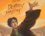 """Harry Potter and the Deathly Hallows"" cover"