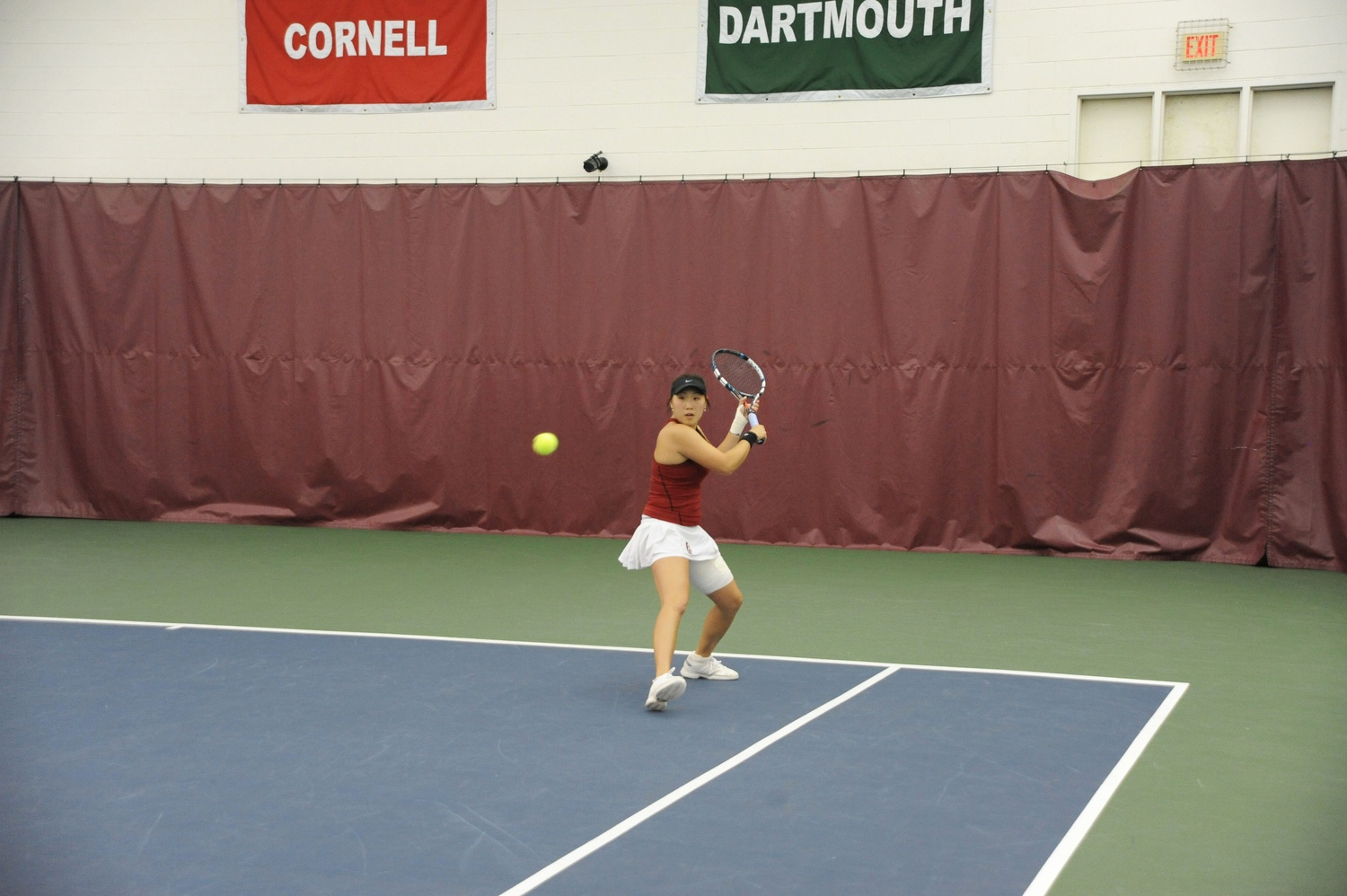 Freshman Gupta Finishes Undefeated for Women's Tennis ...
