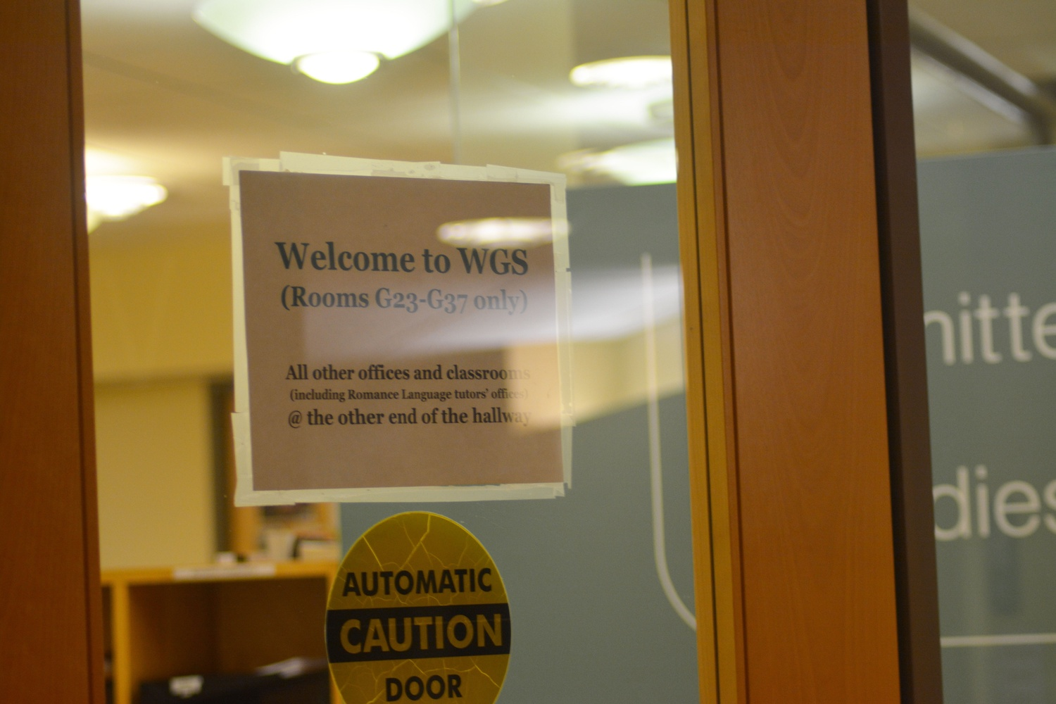 WGS Department