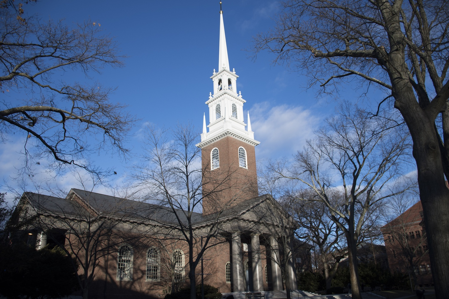 Harvard's Memorial Church held a re-opening reception for students Friday after months of renovations.