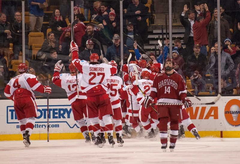 NCAA: Crimson To Battle Boston University For Beanpot Crown Tonight
