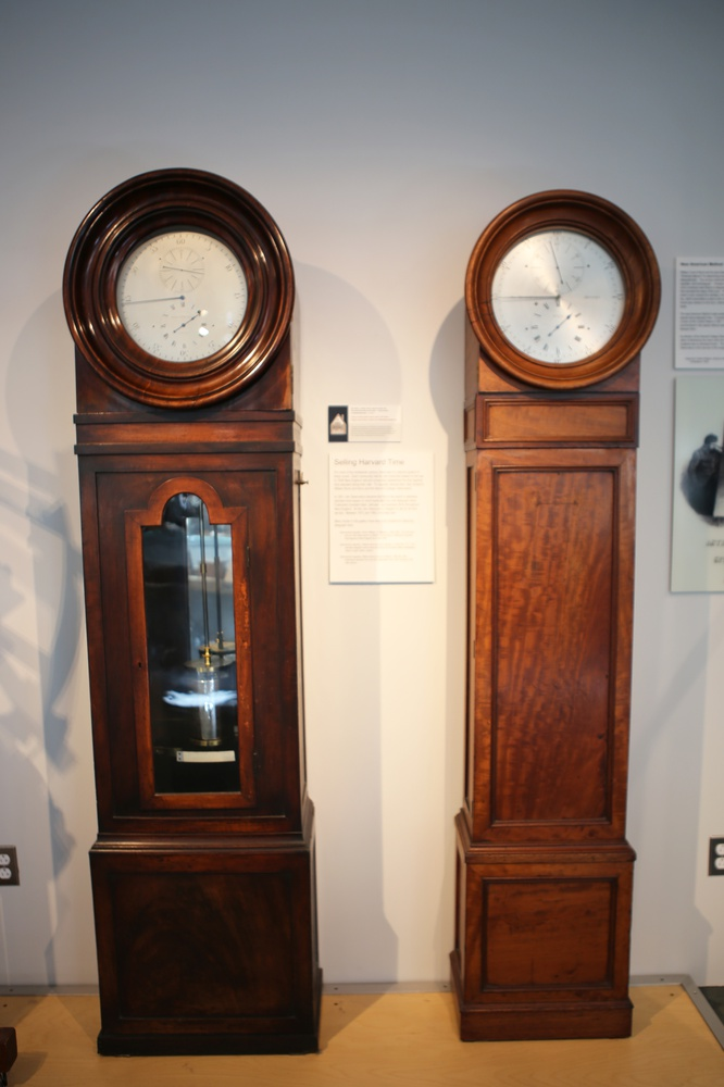 Some of the original collection of Bond chronometers, clocks, and other chronographs are on display at the Putnam Gallery.