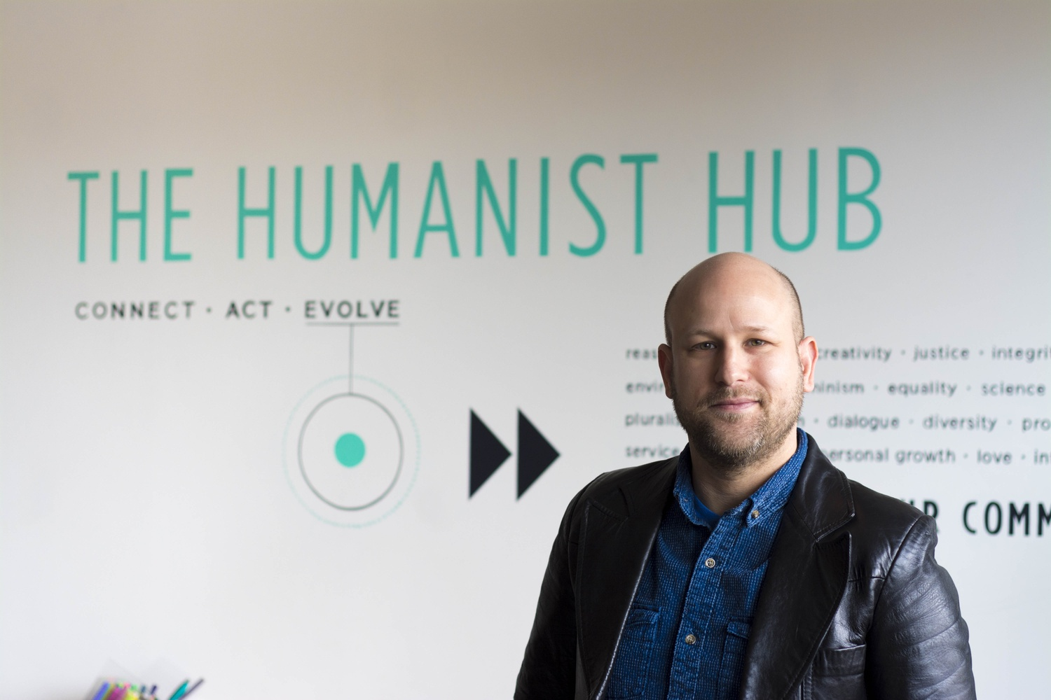 Greg M. Epstein is the humanist chaplain at Harvard and runs the Humanist Hub, which serves atheists, agnostics, and humanists in the student body and the greater Boston area.