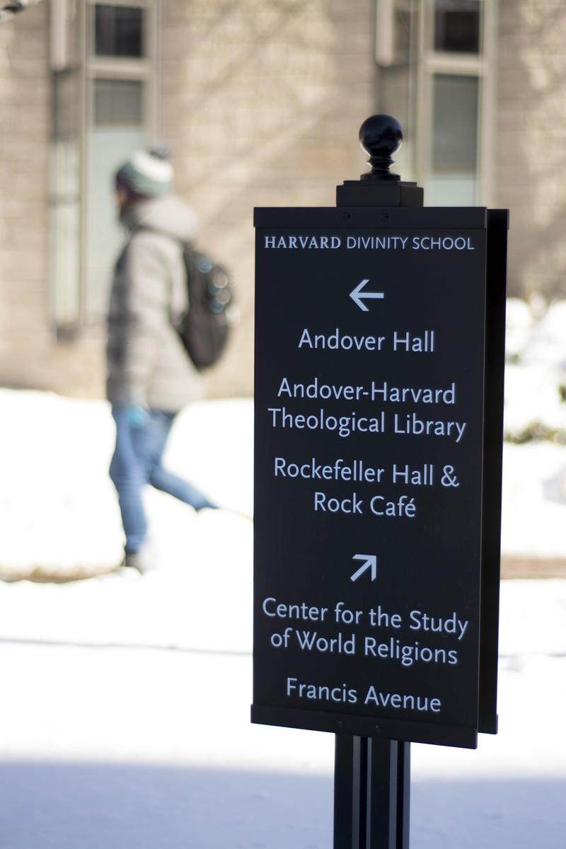 Divinity School Sign
